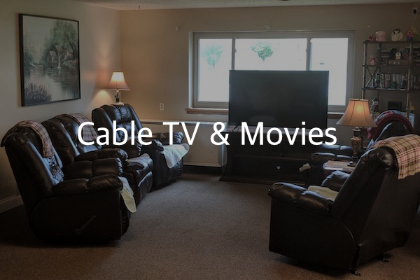 cable TV and movies